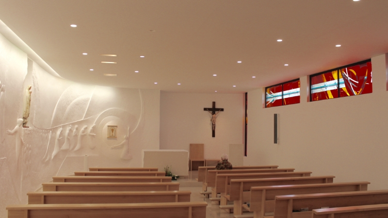 Capela das Irmãs Reparadoras de N. Senhora das Dores de Fátima