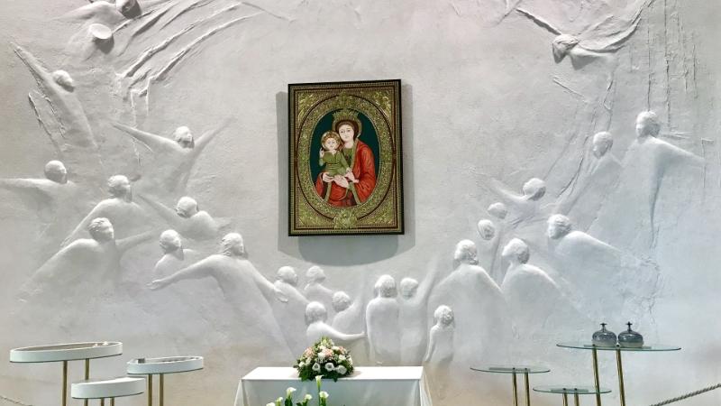 Santuário Theotokus - Centro Ave - Loppiano - Itália